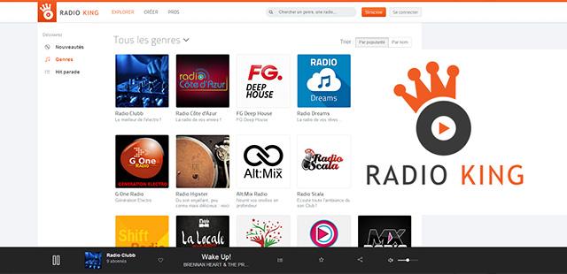 Radio King lance le 1er réseau social de la radio digitale