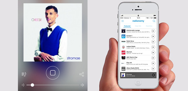 Radionomy propose une nouvelle application mobile