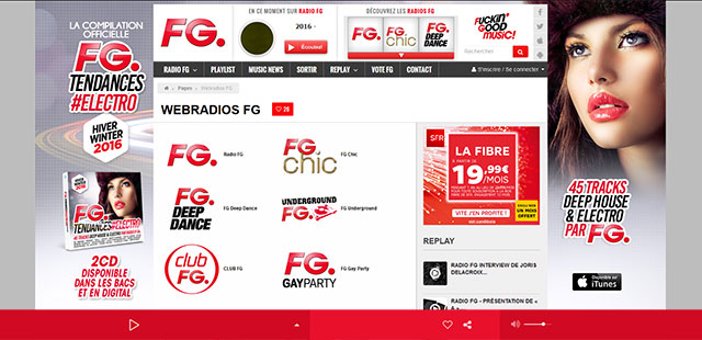 Radio King soigne l'image numérique de FG radio