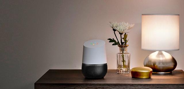 Sundar Pichai présente Google Home, le nouvel assistant virtuel pour toute la famille