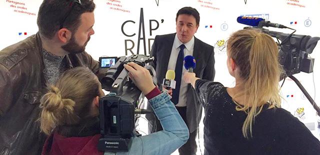 Cap'Radio, première radio académique digitale de France