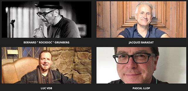 Jacques Baradat, Pascal Llop, Bernard Grunberg et Luc Vandenbussche, alias Luc VDB ont décidé de redonner vie à Radio Alligator