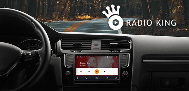 radioking diffuse votre radio sur android auto actualit s des radios digitales. Black Bedroom Furniture Sets. Home Design Ideas