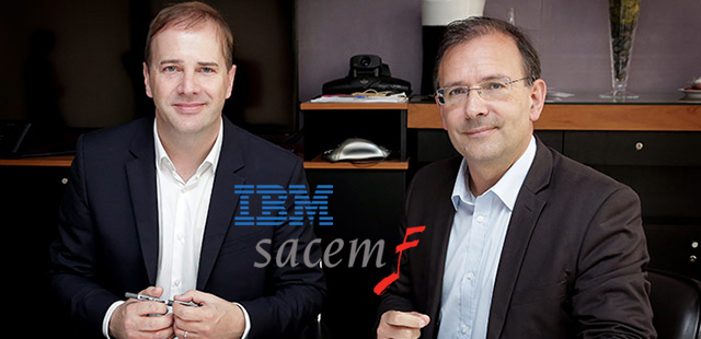 La SACEM fait appel à IBM pour gérer les droits de la musique en ligne