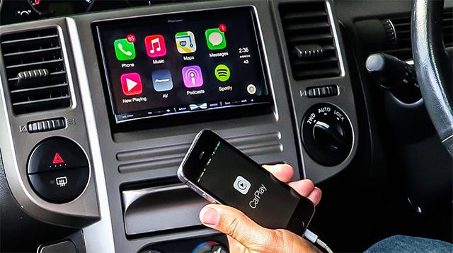 Les applis de Nobex sont supportées par Android Auto et Apple CarPlay