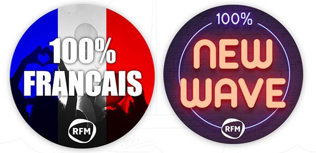 100% français et 100% new-wave, made in RFM