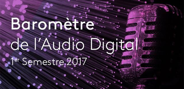 L'activité publicitaire sur la radio digitale au 1er semestre 2017 avec Kantar Media