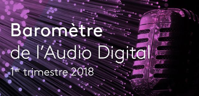 L'activité publicitaire sur la radio digitale au 1er trimestre 2018 avec Kantar Media