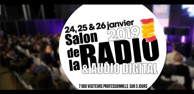 Rendez-vous au Salon de la Radio 2019