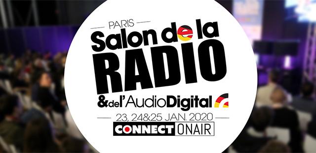 Rendez-vous au Salon de la Radio 2020