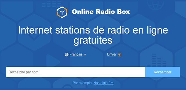 Online Radio Box – TOP 30 des radios digitales en Février 2020