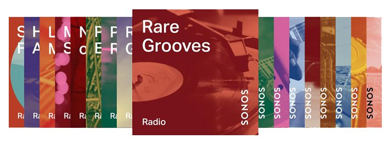 Sonos Stations agrège une trentaine de stations inspirées par les préférences musicales des utilisateurs.