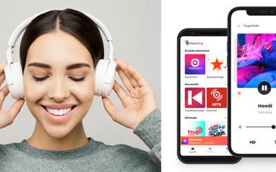 RadioKing met à jour son application d'écoute