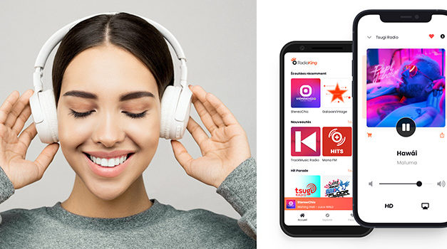 RadioKing met à jour son application d'écoute