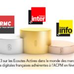 Classement ACPM des radios digitales en Février 2021
